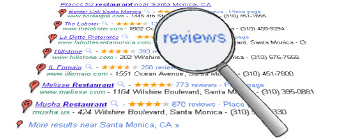 A closer look at Google Places reviews