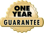 Your Google-review handout: 100% satisfaction guaranteed for a full year