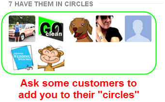"Get into some customers' ""circles"""