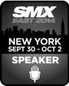 I am speaking at SMX East 2014