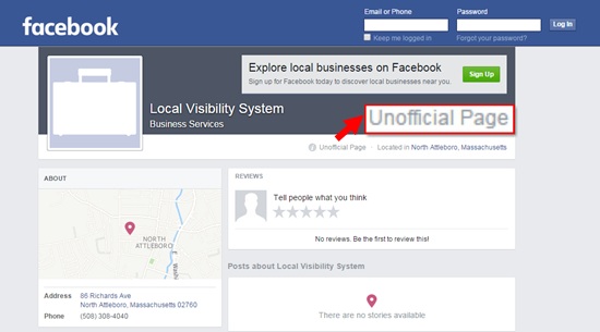 Who Provides Facebook's Local-Business Data
