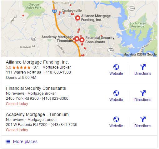 Google reviews POP