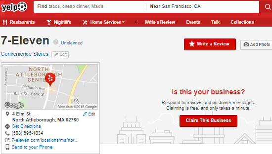 How Long Does It Take for a User-Submitted Yelp Page to Rank