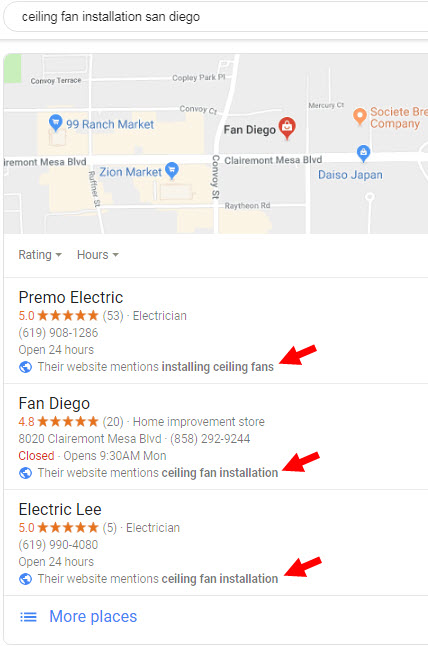 The Easiest Way to Get a Google Maps One-Box Result