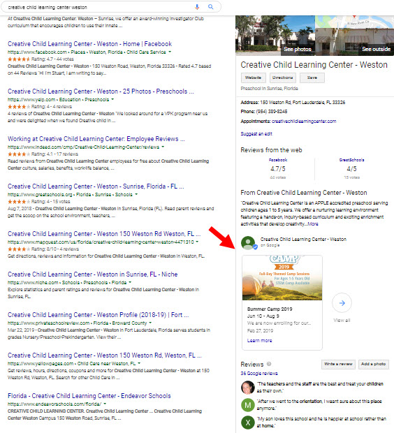 One Good Reason to Offer Google My Business Post Offers